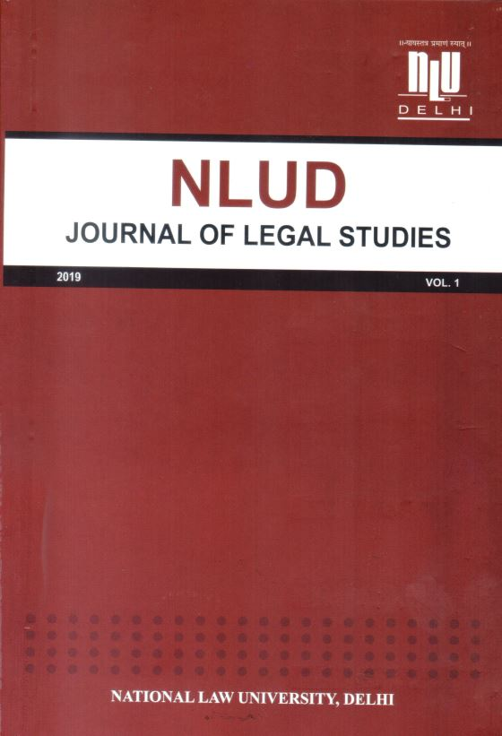 NLUD Journal of Legal Studies