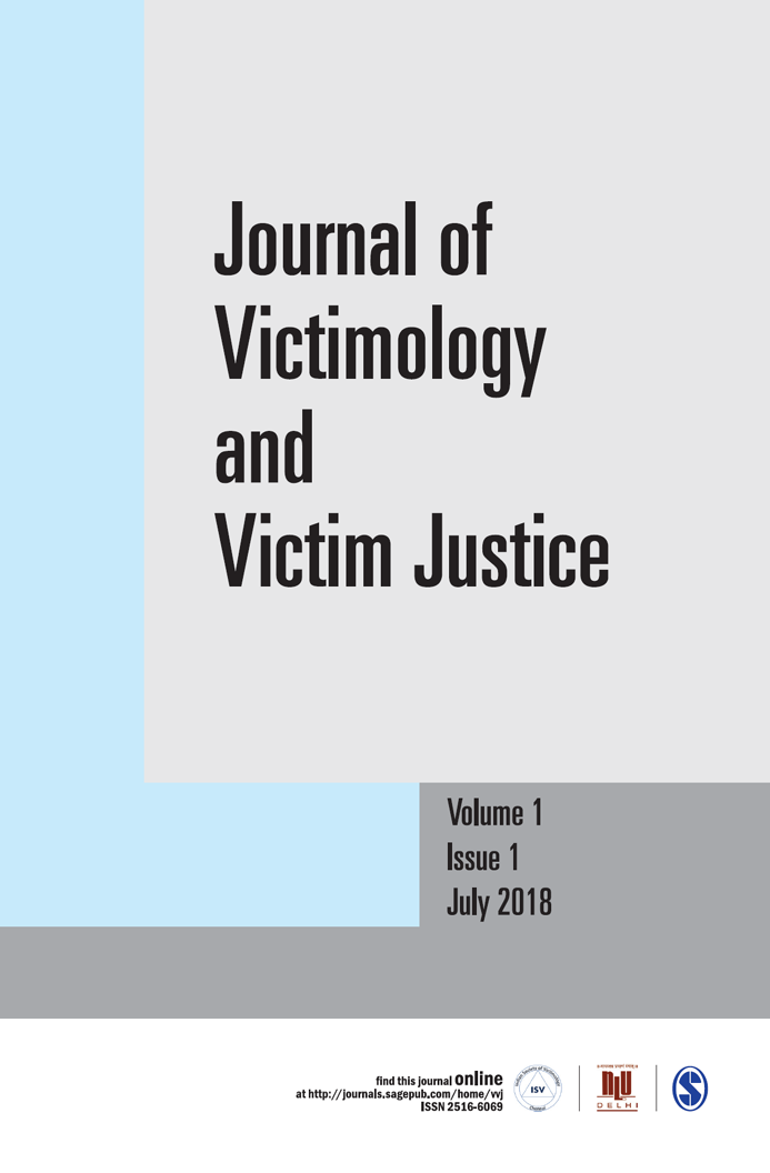 Journal of Victimology and Victim Justice